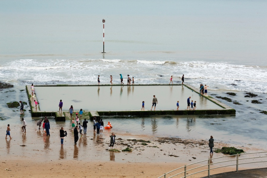 Martin Parr's Beach Therapy