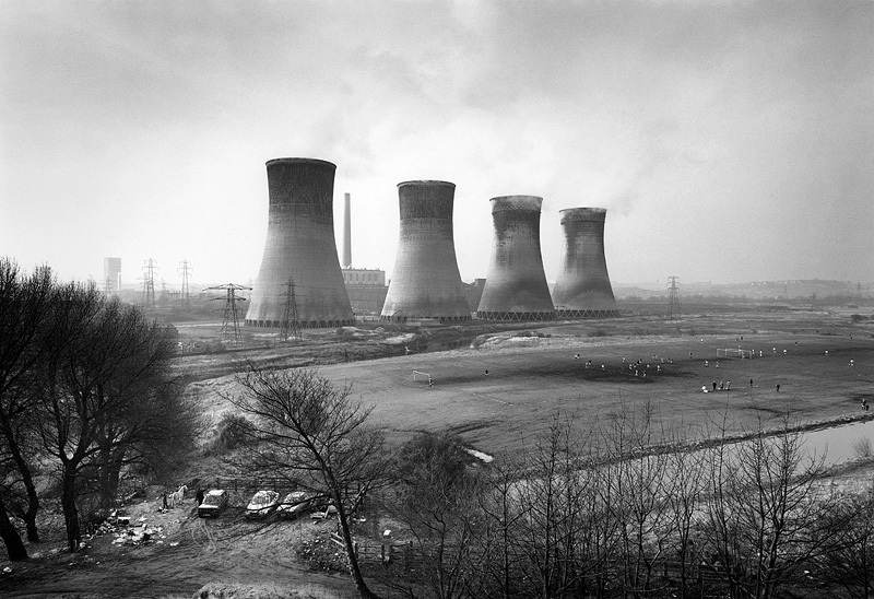 Agecroft Power Station, Salford 1983